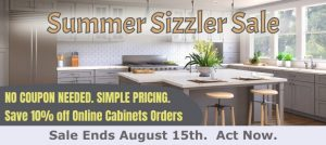 Summer Sizzler 10% Off with code SUMMERSIZZLER