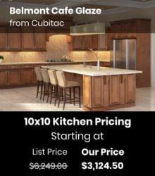 10x10 CBG Cubitac Belmont Cafe Glaze