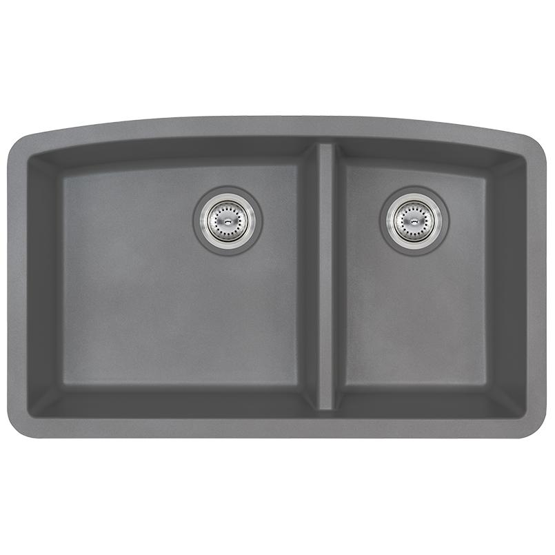Sinks -quartz-grey-double-bowl-60-40-3219-SIN-QTZ-DBLBWL-6040-3219-GRY